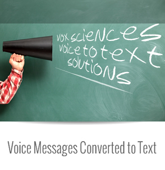 Voice Messages Converted to Text